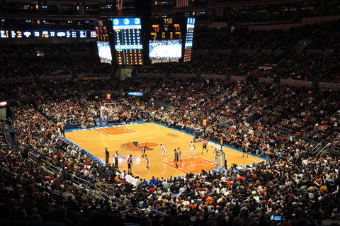 NBA basketball team new york knicks tickets and schedule